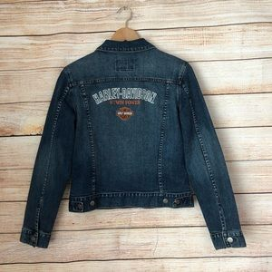 Harley Davidson Jean Denim Jacket.